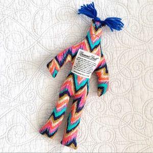 Dammit Doll Funny Gag Gift Idea Voodoo Ikat Print